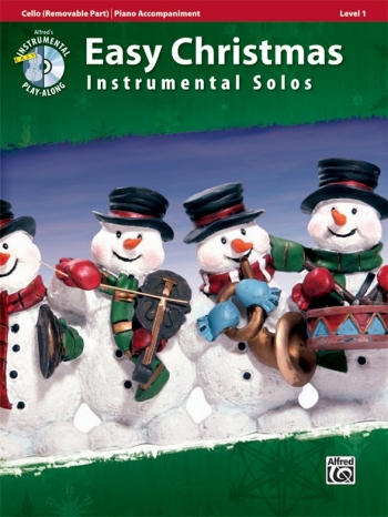 Easy Christmas Instrumental Solos: Cello & Piano