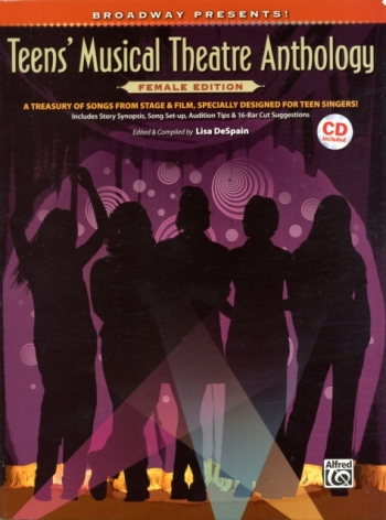 Teens Musical Theatre Anthology: Female Edition: Piano Vocal Guitar