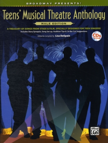 Teens Musical Theatre Anthology: Male Edition: Piano Vocal Guitar