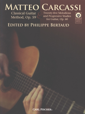 Classical Guitar Method: Op 59 And 25 Studies: Op 60: Bk&Cd