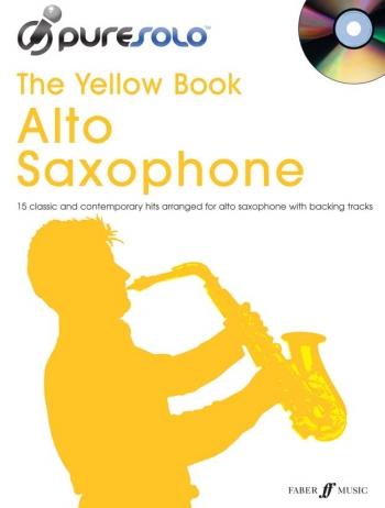 Pure Solo: The Yellow Book: Alto Saxophone: Bk&cd