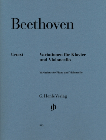 Variations: Cello And Piano (Henle)
