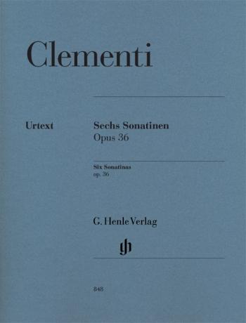 6 Sonatinas Op 36: Piano (Henle)