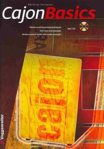 Cajon Basics: Tutor: Book & Cd