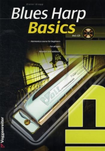 Blues Harp Basics: Tutor: Book & Cd