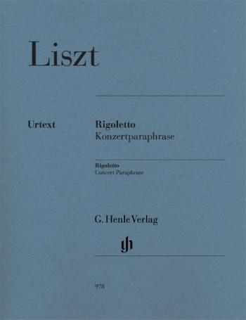Rigoletto: Concert Paraphrase: Piano