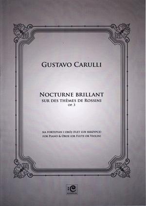 Nocturne Brilliant: Op 3: Oboe And Piano