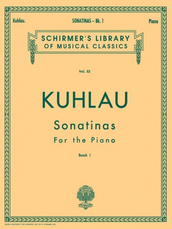 Sonatinas: Book 1: Piano (Peters)