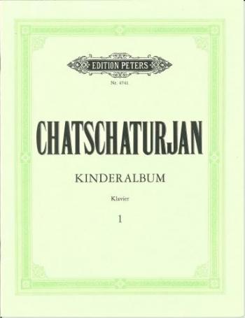 Kinderalbum: 1: Piano (peters)