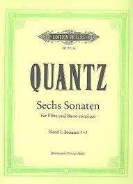 6 Sonatas: Vol 1: Flute & Piano (Peters)