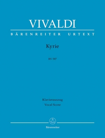 Kyrie: Rv587: Vocal Score (barenreiter)