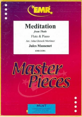 Meditation From Thais: Flute And Piano