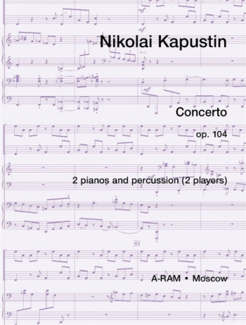 Double Concerto Op.104: 2 Pianos And Percussion