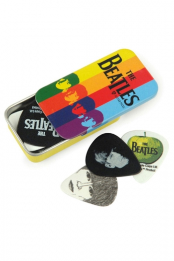 Pick Tins With Assorted Beatles Picks