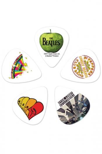 Collectible Beatles Guitar Picks - 10 Pack, Medium