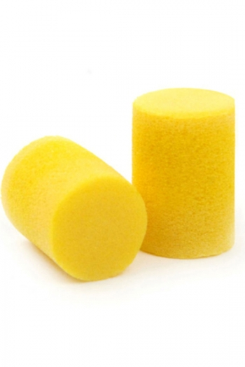 Ear Plugs Custom Fit By Planet Waves/D'Addario - Yellow