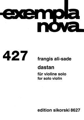 Dastan: Violin Solo (Sikorski)