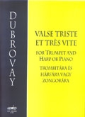 Valse Triste Et Tres Vite: Trumpet And Harp Or Piano