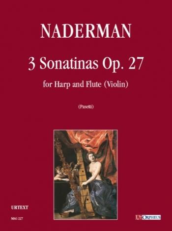 3 Sonatinas:Op27: Harp And Flute Or Violin