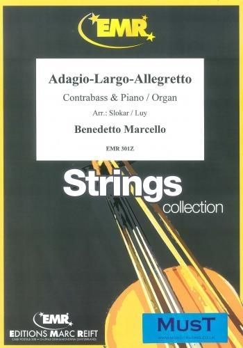Adagio-Largo-Allegretto: Double Bass And Piano