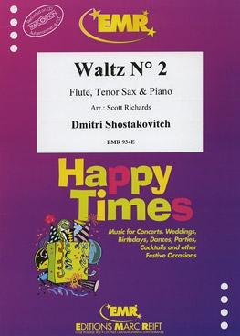 Waltz No 2: Flute Tenor Sax And Piano Trio