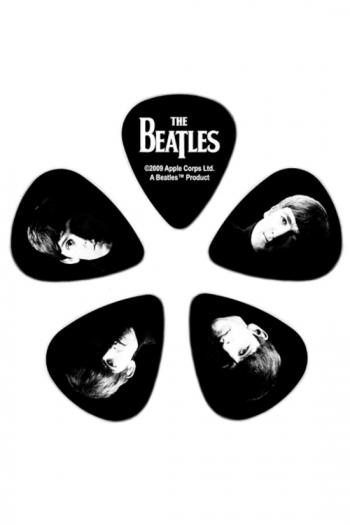 Beatles Guitar Picks By D'Addario - Meet The Beatles - 10 Pack, Medium