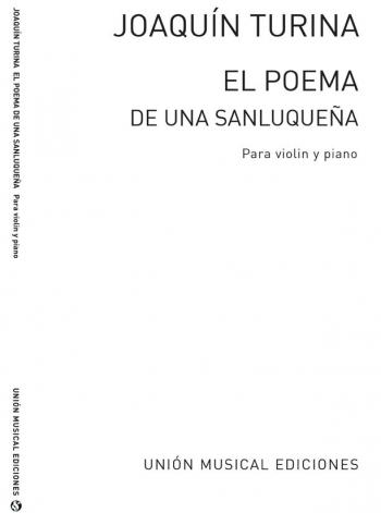 El Poema De Una Sanluquena: Violin & Piano (Archive)