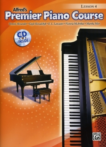 Alfred Premier Piano Course 4: Lesson Book: Book And CD