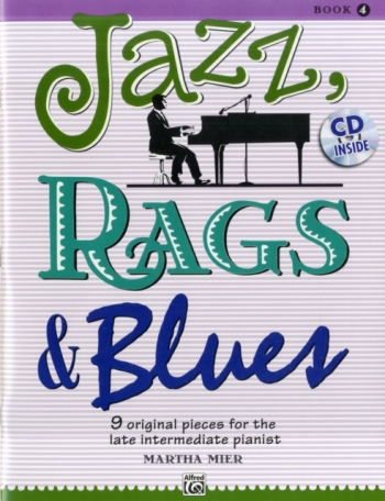 Jazz Rags & Blues Book 4 Piano Book & Cd (mier)