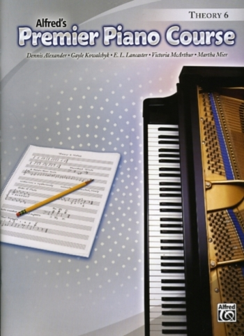 Alfred Premier Piano Course 6: Theory