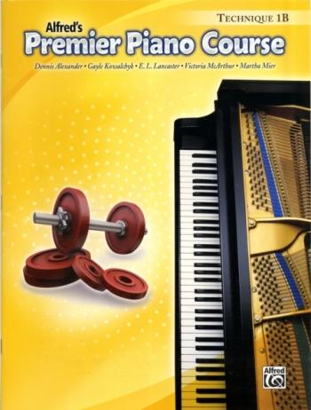 Alfred Premier Piano Course 1b: Technique