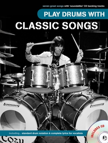 Play Drums With Classic Songs:  Bk&cd