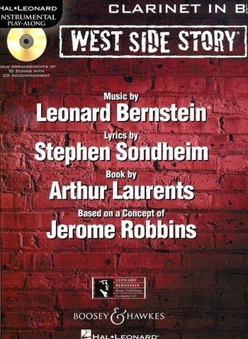 Instrumental Play-Along: West Side Story: Clarinet: Book And Cd
