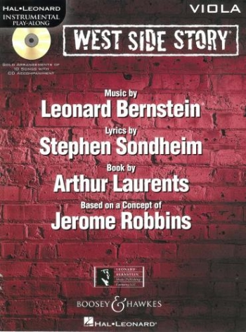 Instrumental Play-Along: West Side Story: Viola: Book And Cd