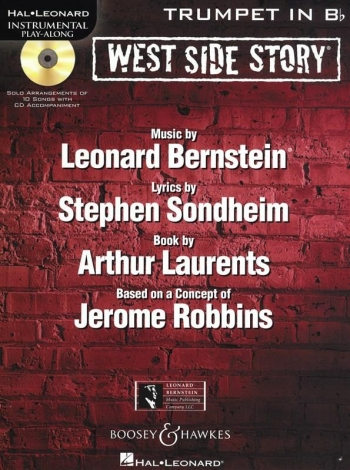 Instrumental Play-Along: West Side Story: Trumpet: Book And Cd