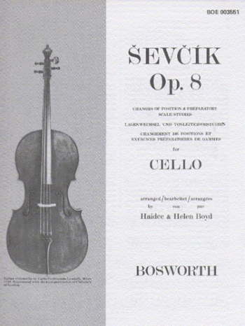 Changes Of Position And Preparatory Scale Studies: Cello Solo (Bosworth)