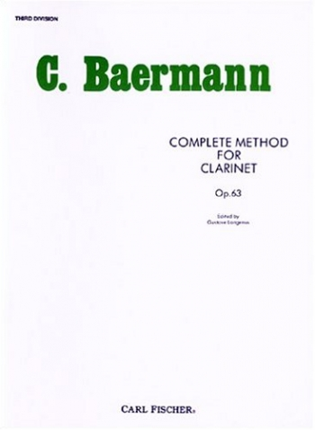 Complete Clarinet Method: Book 3: Op.63