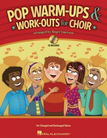 Pop Warm-Ups And Work-Outs For Choir: Book And Cd