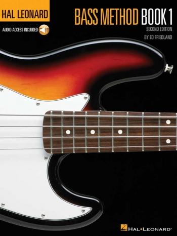 Hal Leonard: Bass Method: Vol.1: Book And Audio