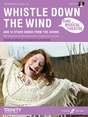 Sing Musical Theatre: Whistle Down The Wind: Piano Vocal Guitar: Book & CD Intermediate Grade 4-5