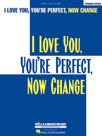 I Love You, Youre Perfect, Now Change Pvg: Musical Vocal Selections