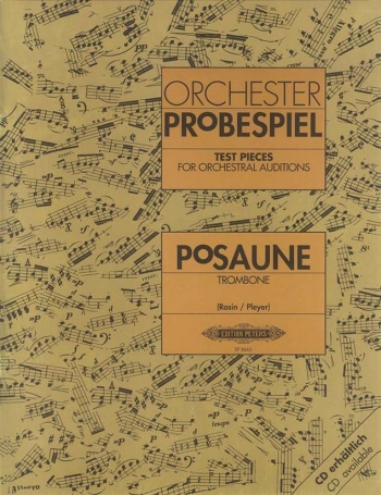 Test Pieces For Orchestral Auditions Trombone (Orchester Probespiel)