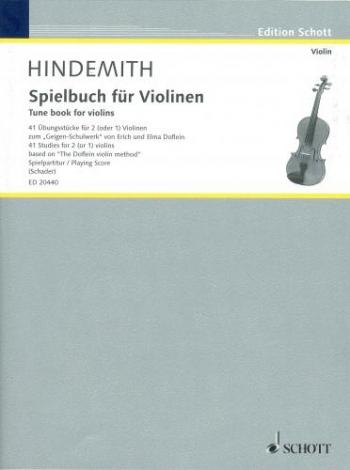 Spielbuch Fur Violinen: Tune Book For Violins