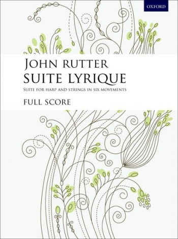 Suite Lyrique: Harp And Strings: Full Score
