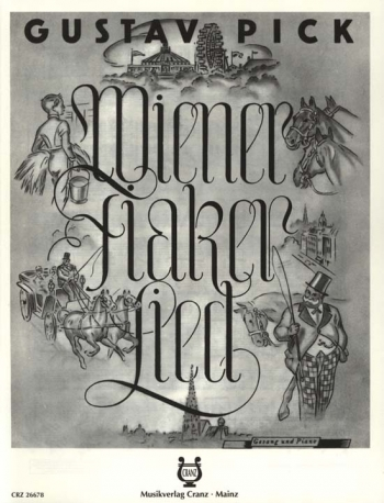 Wiener Fiakerlied: Vienna Coachmans Song: Voice And Piano