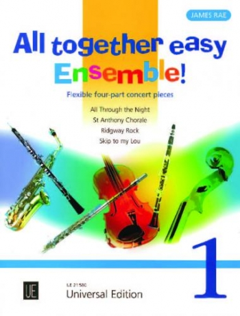 All Together Easy Ensemble Band 1: Flexible: Four Part Concert Pieces: Score & Parts (rae)