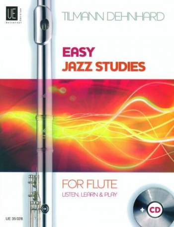 Easy Jazz Studies: Flute: Book And Cd