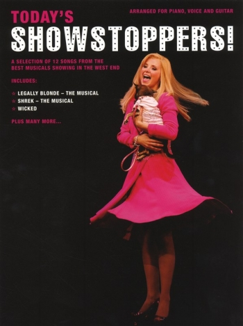 Todays Showstoppers - A Selection Of 12 Songs From The West End: Piano Vocal Guitar
