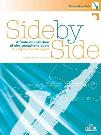 Side By Side: Alto Saxophone Duet: Book And CD