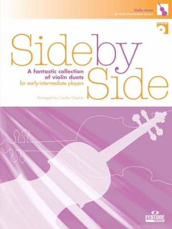 Side By Side: Violin Duet: Book And CD